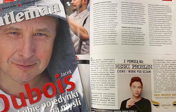 Autorska rubryka Alana Dąbrowskiego w Magazynie Gentlemen