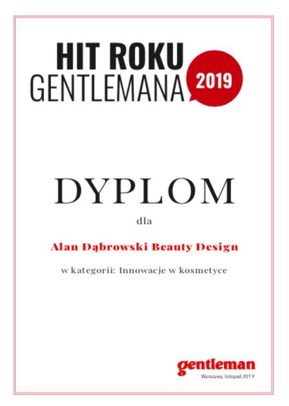"""Nagroda """"Hit roku magazynu Gentleman"""" dla Alana Dąbrowskiego"""